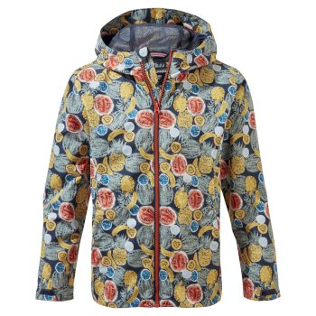 Kids' Landry Jacket - Blue Navy Print