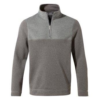 Taransay Half-Zip Fleece - Cement