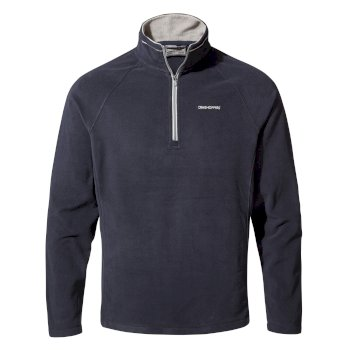 Corey V Half-Zip Fleece - Dark Navy