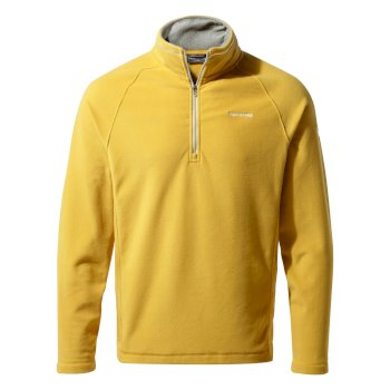 Men's Corey V Half-Zip Fleece - Soft Gold