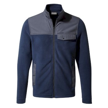 Thurso Fleece Jacket - Mid Navy