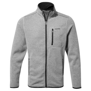 Men's Etna Fleece Jacket - Soft Grey Marl