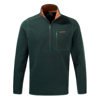 Etna Half-Zip Fleece     - Mountain Green