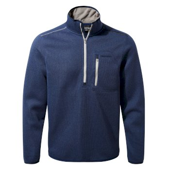 Etna Half-Zip Fleece     - Lapis Blue Marl