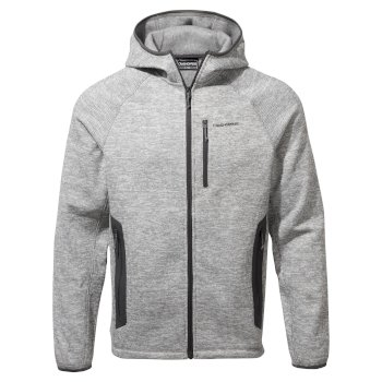 Peri Hooded Jacket - Soft Grey Marl