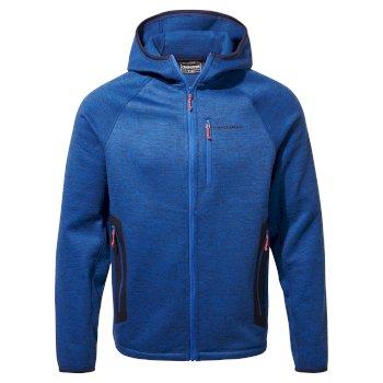 Peri Hooded Jacket - Deep Blue Marl