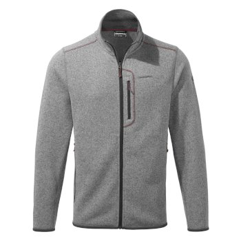 Bronto Jacket - Soft Grey Marl