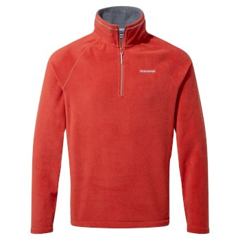 Men's Corey VI Half Zip - Pompeian Red