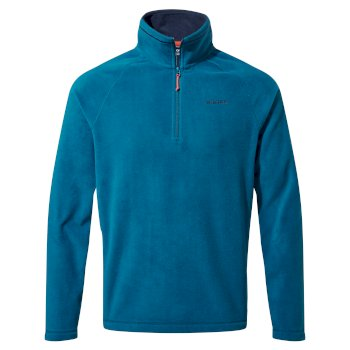 Men's Corey VI Half Zip Fleece - Poseidon Blue