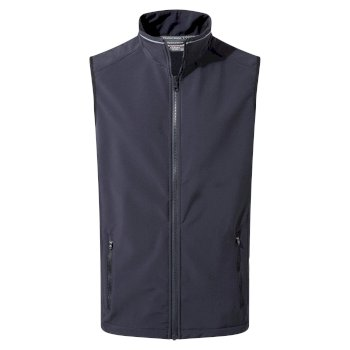 Mens Expert Essential Interactive Softshell Vest - Navy