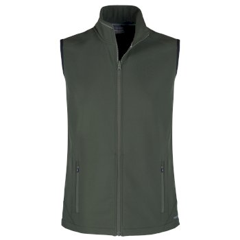 Mens Expert Essential Interactive Softshell Vest - Green