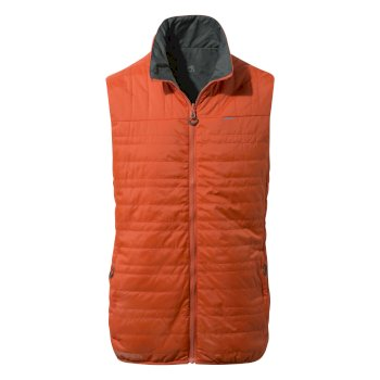 CompressLite Vest II Spiced Orange /Dark Grey