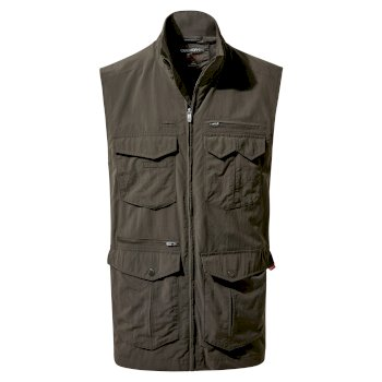 Men's Insect Shield® Adventure Vest II - Woodland Green