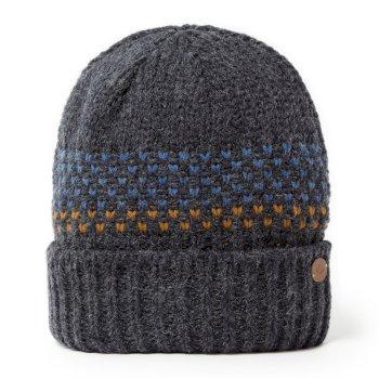 Ortier Hat - Dark Navy Marl / Deep Blue Marl