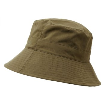 Men's Insect Shield® Sun Hat II - Dark Moss / Parchment