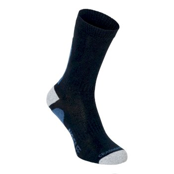 NosiLife Adventure Sock - Dark Navy / Soft Denim