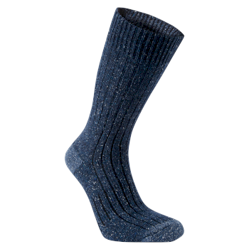 Glencoe Walking Sock - Blue Navy Marl