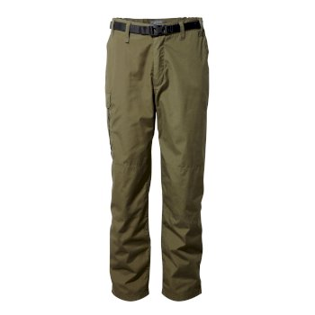 Men's Classic Kiwi Pants - Dark Moss / Black Pepper