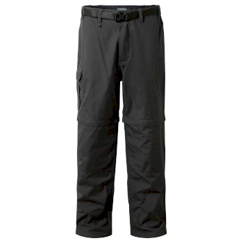 Men's Kiwi Convertible Pants - Black Pepper