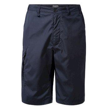 Kiwi Long Shorts - Steel Blue