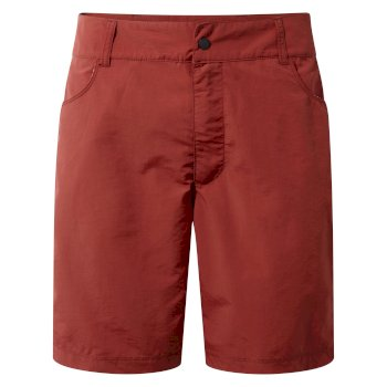 Leon Swim Short - Carmine Red