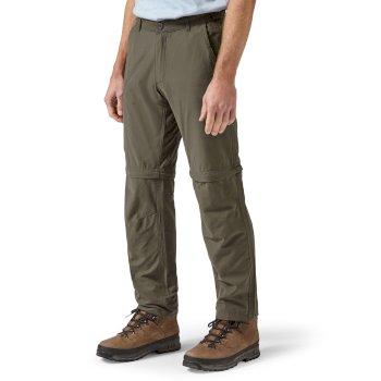 fb90e06dd Trek Convertible Trousers - Bark