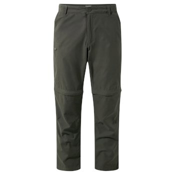 Trek Convertible Pants - Bark