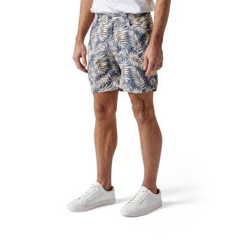 Whitehaven Shorts - Ocean Blue Print