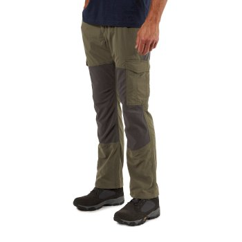 NosiLife Pro Adventure Trousers - Mid Khaki / Black Pepper
