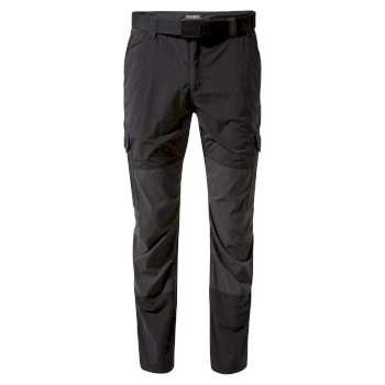 Men's Insect Shield® Pro Adventure Pants - Black / Black Pepper