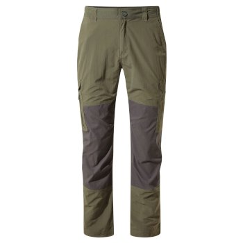 Men's Insect Shield® Pro Adventure Pants - Mid Khaki / Black Pepper