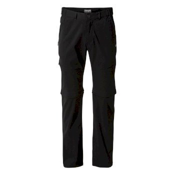 Men's Kiwi Pro II Convertible Pants - Black