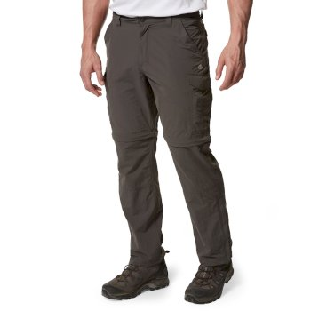 NosiLife Convertible II Trousers - Bark