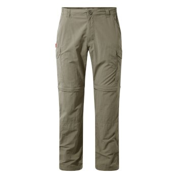 Men's Insect Shield® Convertible II Pants - Pebble