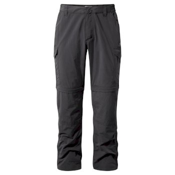 Men's Insect Shield® Convertible II Pants - Black Pepper