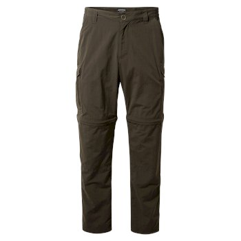 Men's Insect Shield® Convertible II Pants - Woodland Green