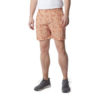 Vinci Shorts - Red Ochre Print