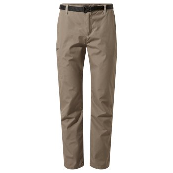 Men's Kiwi Boulder Slim Trousers - Bark