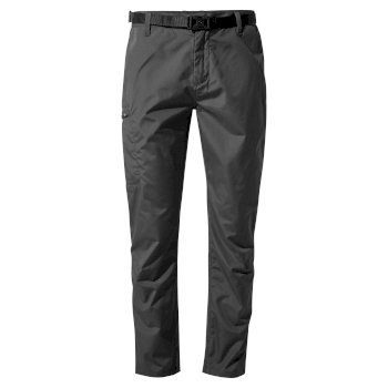 Men's Kiwi Boulder Slim Trousers - Black Pepper