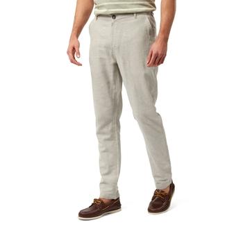 NosiBotanical Kier Trouser - Parchment Marl