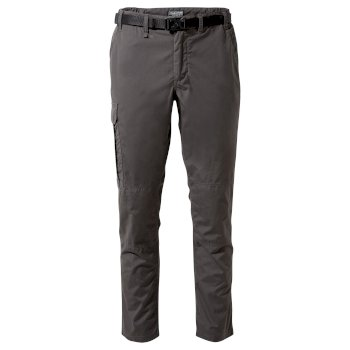 Kiwi Slim Trousers - Bark
