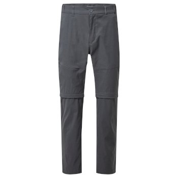 Kiwi Pro II Convertible Trousers - Dark Lead