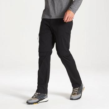 Kiwi Pro II Convertible Trousers - Black