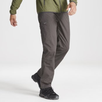 Kiwi Boulder Slim Trouser - Bark