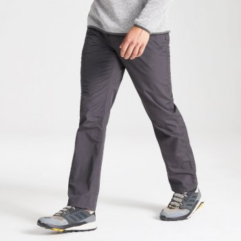 Kiwi Boulder Slim Trouser - Black Pepper