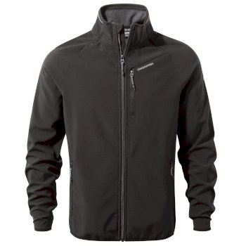 Men's Baird Softshell Jacket - Black