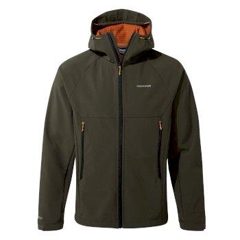 Trent Weatherproof Hooded Jacket - Woodland Green