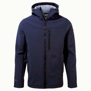 Oswin Hooded Jacket - Blue Navy