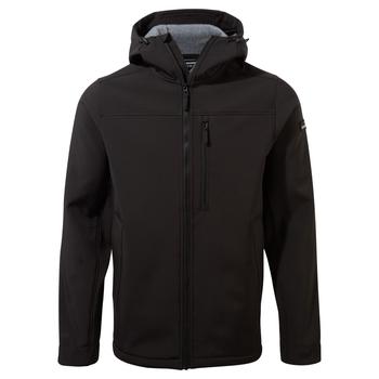 Oswin Hooded Jacket - Black