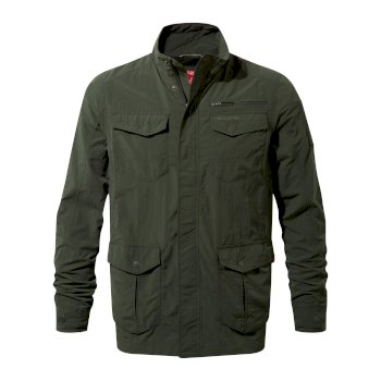 Men's Insect Shield® Adventure Jacket - Dark Khaki